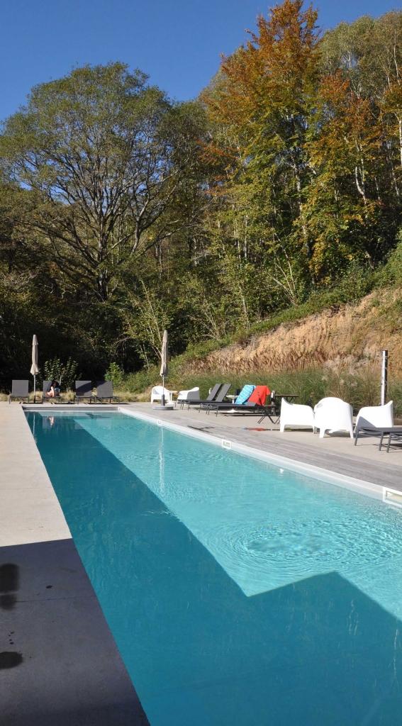 une villa de vacances exceptionnelle dans les pyrénées en france, avec espace piscine chauffée, coin détente, pool house entièrement équipée