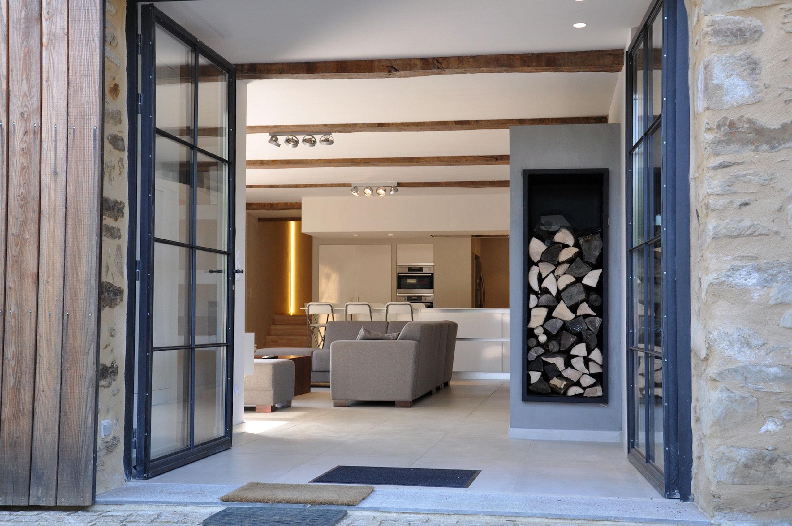 salon grange cocagne saint pé de bigorre location villa de luxe