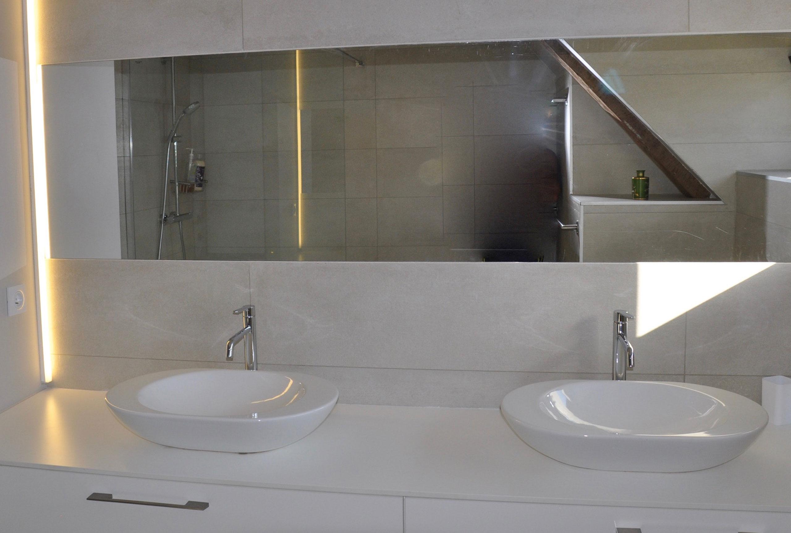 salle de bain location de vacances dans les pyrénées