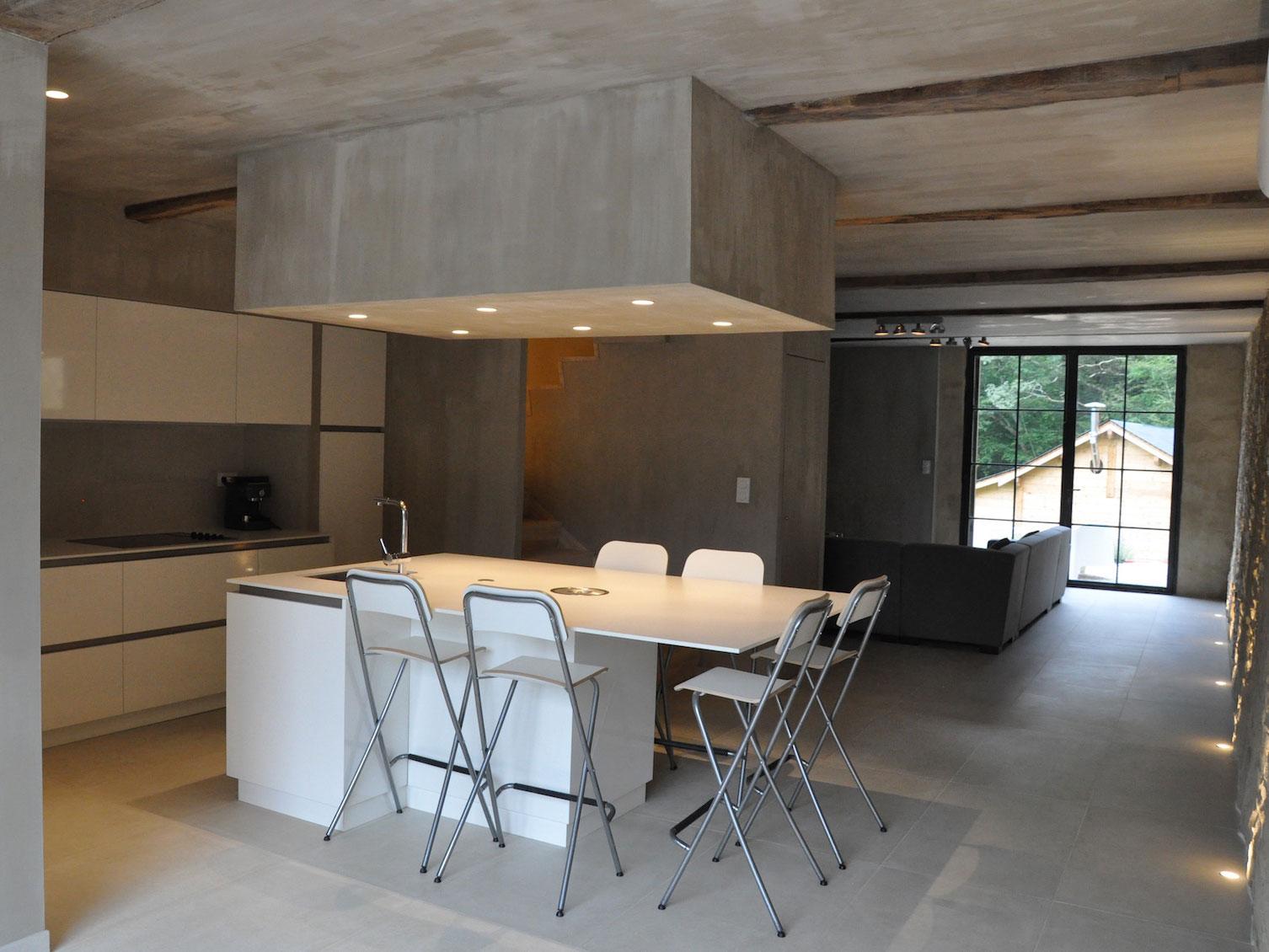 keuken Villa labatmale woning te huur voor 6 personen hautes pyrénées