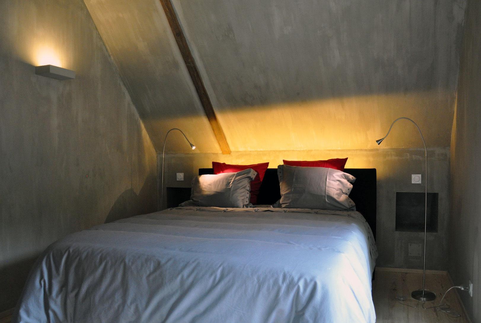 slaap kamer Villa labatmale woning te huur voor 6 personen hautes pyrénées