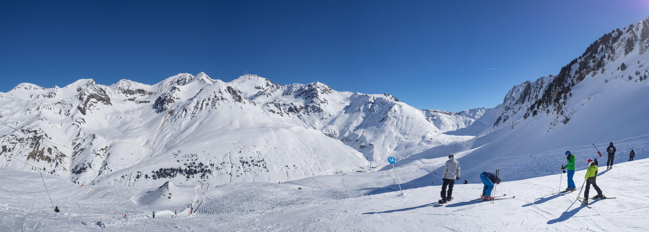 les hautes pyrénées, les plus belles pistes de ski de france