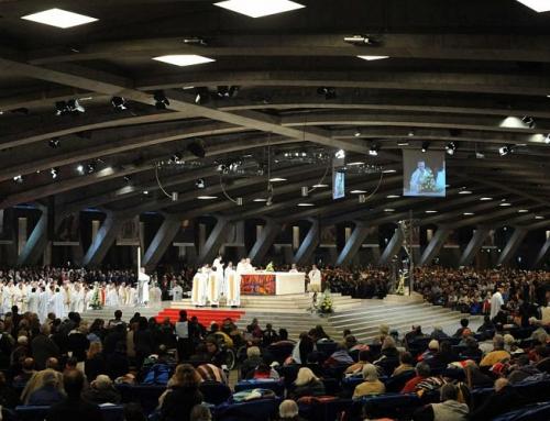 Basilique saint-Pie X de Lourdes