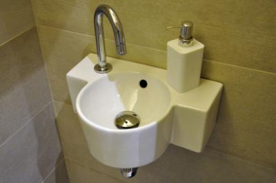 sobriété salle de bain location de vacances dans les pyrénées
